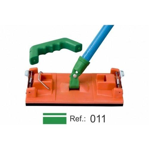 Lixador Manual Médio Com Alça/presilha E Conexão - Purplex