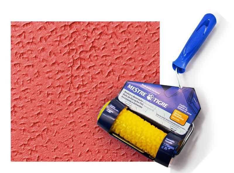 Rolo Para Textura Texturart 3305 - Tigre