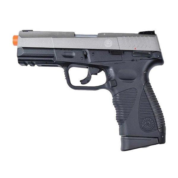 Pistola Airsoft CO2 (24/7 G2) Cromada FULL METAL- Taurus