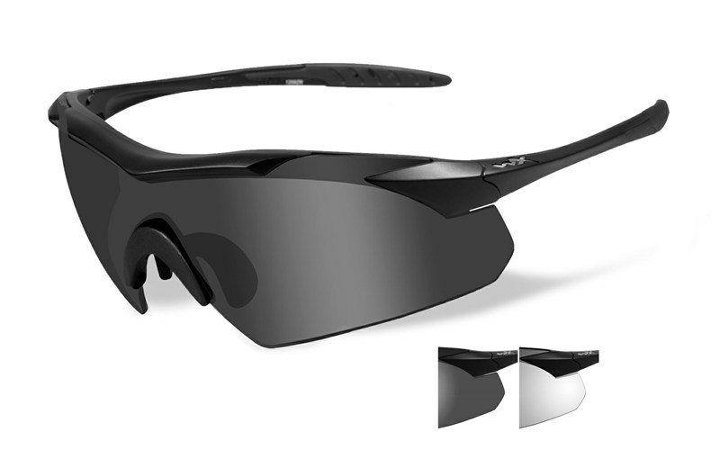 Óculos WILEY X Vapor Grey/Clear Matte Black Frame- 3501