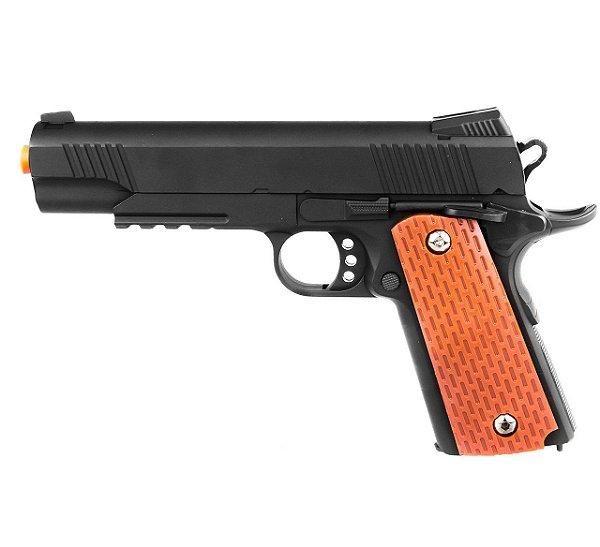 Pistola Airsoft Modelo VG 1911-V13 Metal 6MM (Spring)