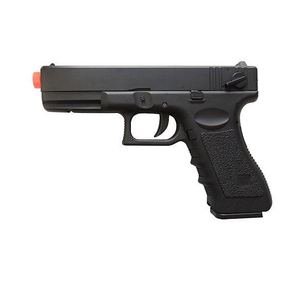 Pistola Airsoft Cyma Modelo CM030S ET 6MM (Elétrica)