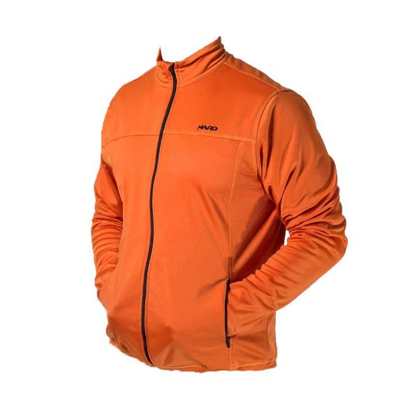 Jaqueta Flanelada Hard Travel Laranja Fleece