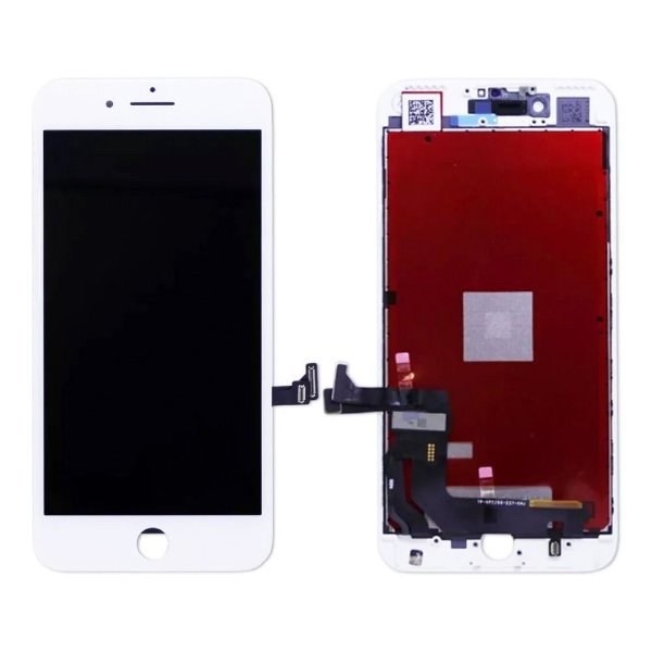 GABINETE FRONTAL DISPLAY LCD MODULO COMPLETO APPLE IPHONE 7 BRANCO