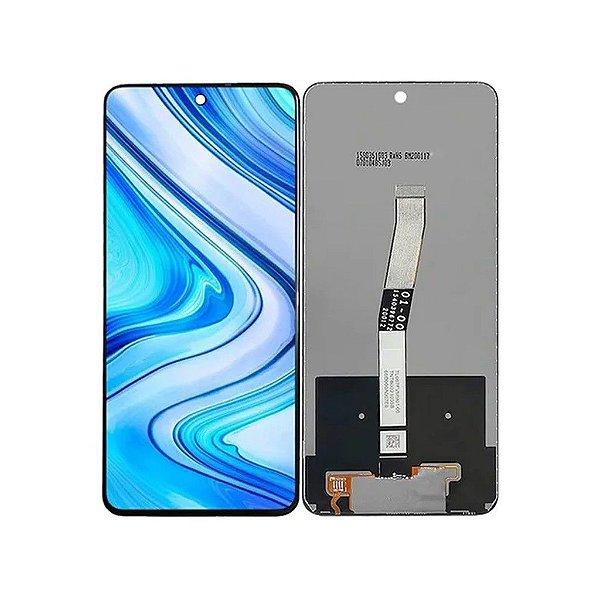 GABINETE FRONTAL DISPLAY LCD MODULO COMPLETO XIAOMI REDMI NOTE 9S / NOTE 9 PRO / MAX (ORIGINAL CHINA)