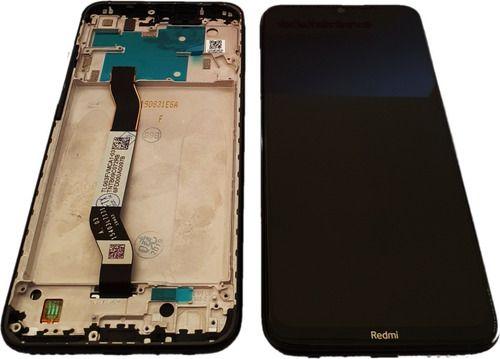 GABINETE FRONTAL DISPLAY LCD MODULO COMPLETO XIAOMI REDMI NOTE 8 PRETO (ORIGINAL CHINA COM ARO)