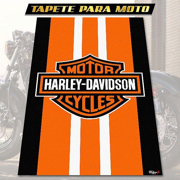 TAPETE PARA MOTO HARLEY DAVIDSON