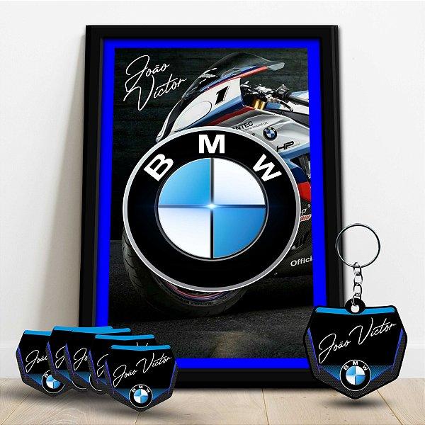 COMBO - QUADRO DECORATIVO - BMW