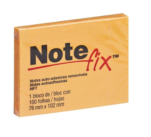 Bloco Notefix 3M NFX7 100F 76 X 102Mm Laranja