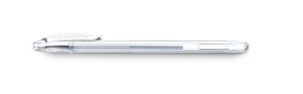 Caneta Gel Compactor Prata 07