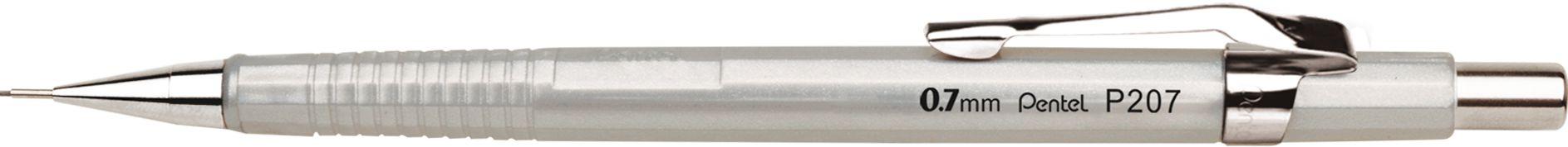 Lapiseira 0.7mm Pentel Sharp Prata 207-ZPB