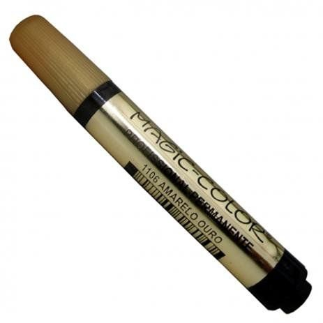 Marcador Magic Color Gold - Amarelo Ouro 1106