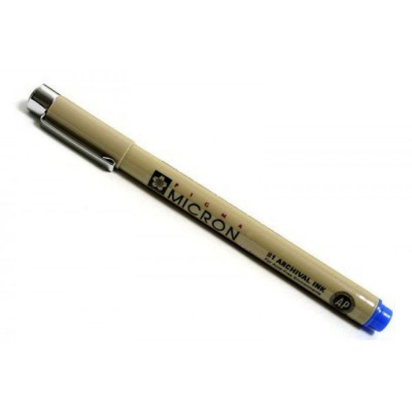 Caneta Nankin Pigma Micron 01 - Azul - XSDK01#36