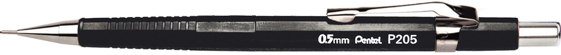 Lapiseira 0.5mm Pentel Sharp P205 - Cores Sortidas
