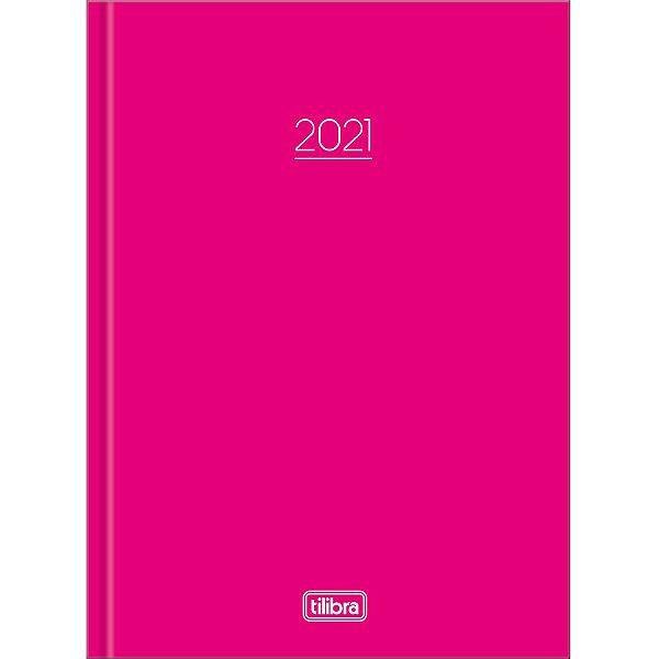 Agenda Costurada Diária Pepper Tilibra Rosa 2021
