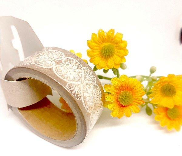 Fita Adesiva Decorativa Toke & Crie 5mx2cm - Renda