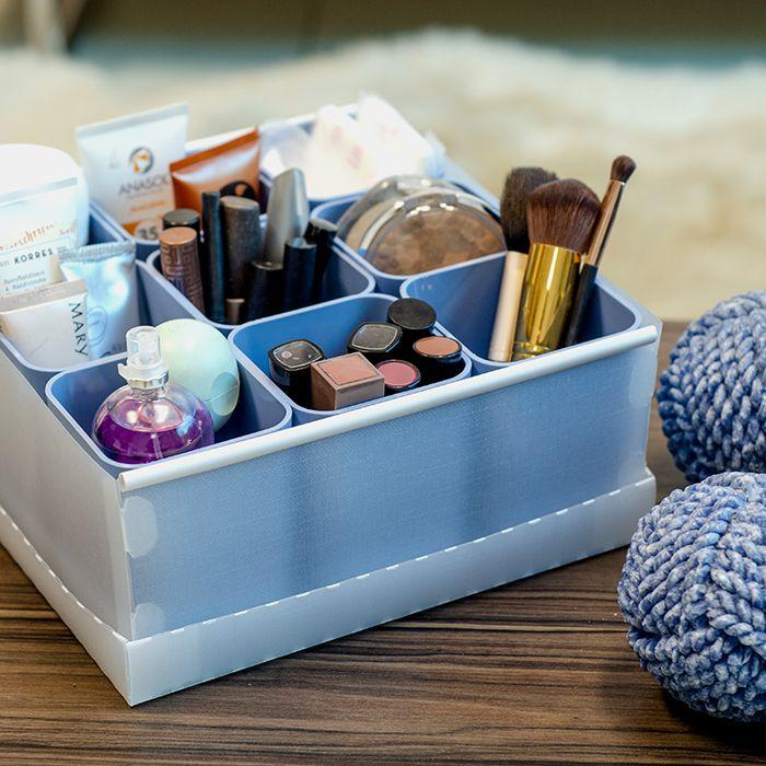 Caixa Organizadora de Objetos com 9 Porta Objetos