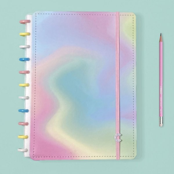 Caderno Inteligente Candy Splash - Grande