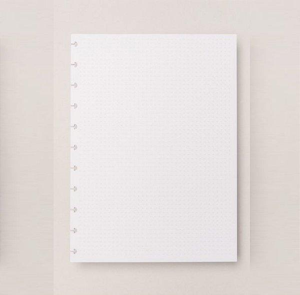 Refil Caderno Inteligente - Pontilhado Médio