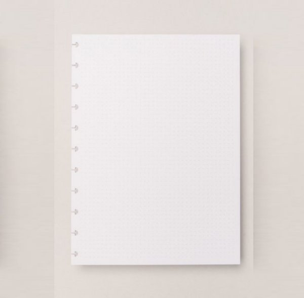 Refil Caderno Inteligente - Pontilhado Grande