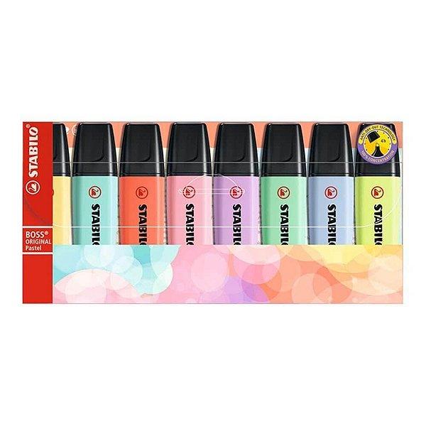 Stabilo Boss Pastel Kit 8 cores