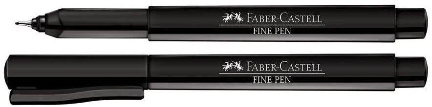Caneta Fine Pen Faber Castell Avulsa