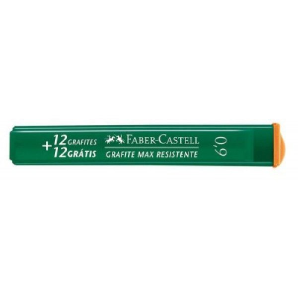 Grafite 0,9mm Faber Castell c/24 Minas