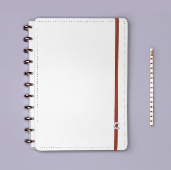 Caderno Inteligente All White - Grande