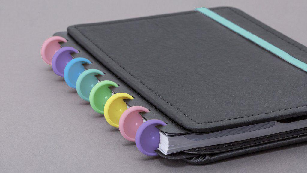 Discos + Elásticos Caderno Inteligente - Diversidade Brasileira  M (23mm)