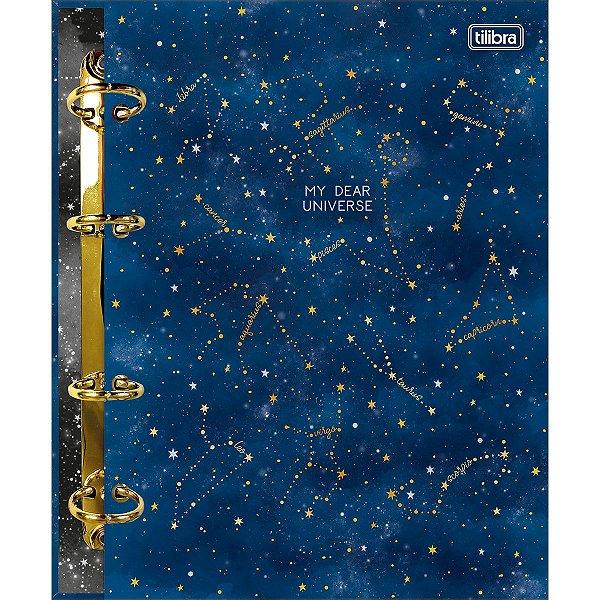Caderno Argolado Cartonado Colegial Magic 160 Folhas
