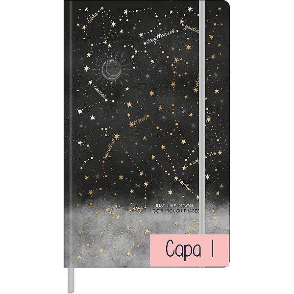 Caderno Pontilhado Costurado Capa Dura Fitto G Magic 80 Folhas