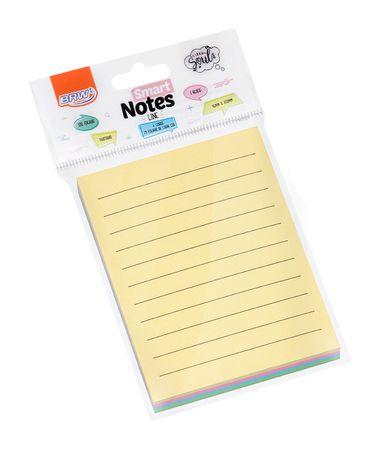 Bloco Smart Notes 76 x 102 mm Pastel Pautado 50 folhas