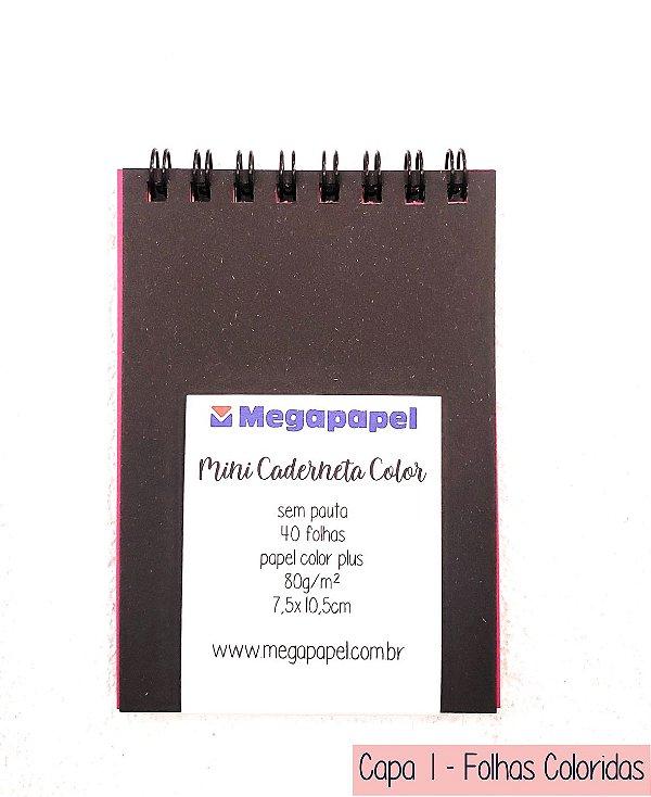 Mini Caderneta Sem Pauta - Megapapel