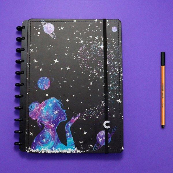 Caderno Inteligente By Gocase Poeira das Estrelas - Grande