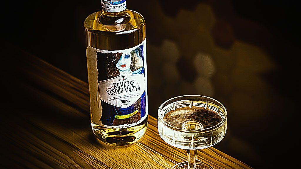 Reverse Vesper Martini
