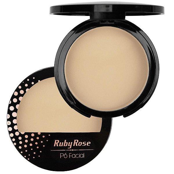 Pó Compacto  Facial Ruby Rose Cor 03