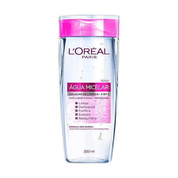 Água Micelar Solução de Limpeza Facial  Dermo Expertise  | L'Oréal Paris