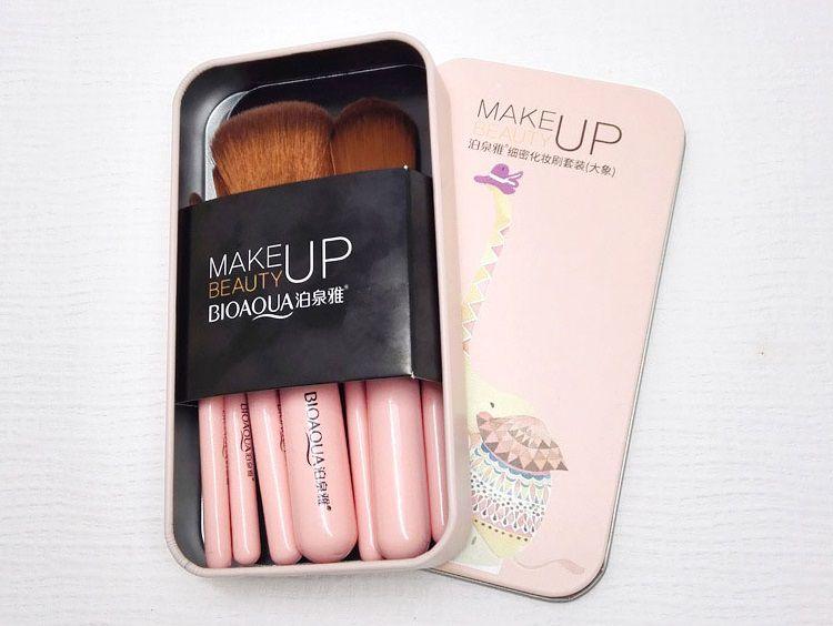 Kit de pincéis para Maquiagem BIOAQUA®