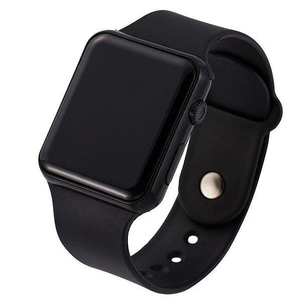Relógio LED Watch Digital Unissex