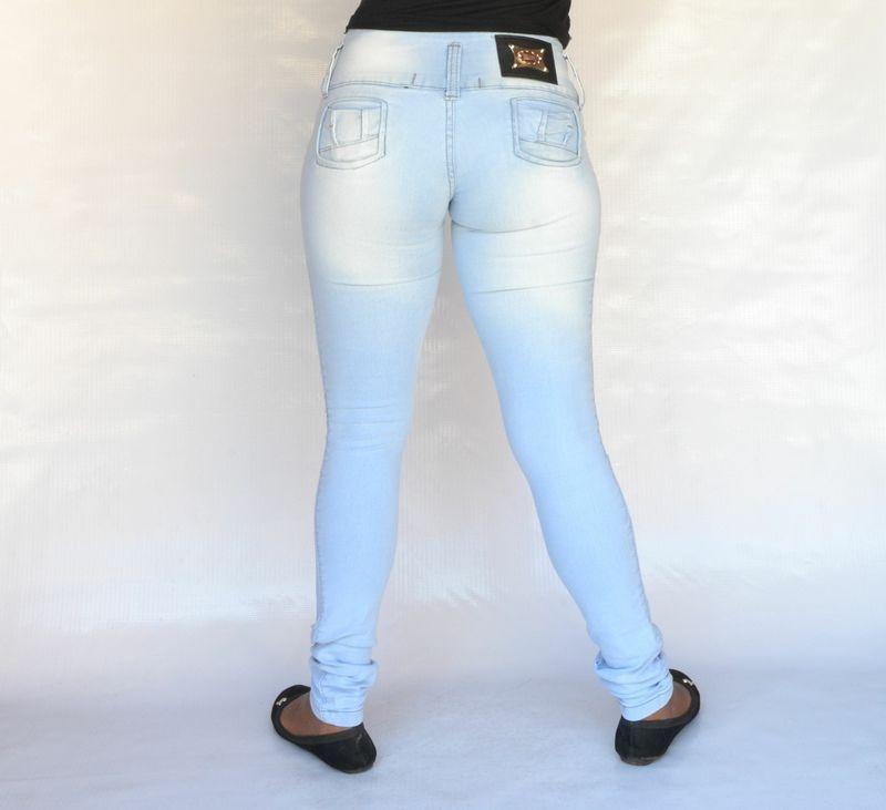 Calça Jeans Helix Legging Clara Levanta Bumbum