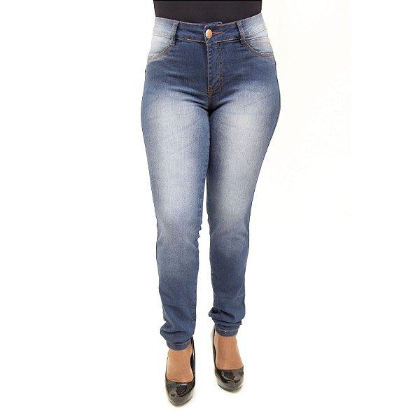 Calça Jeans Feminina Hot Pants Thomix com Lycra