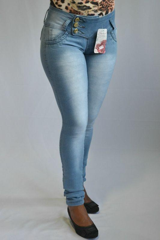 Calça Jeans Clara Credencial Modelo Levanta Bumbum