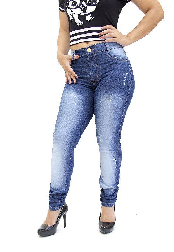 Calça Jeans Helix Skinny Milena Azul