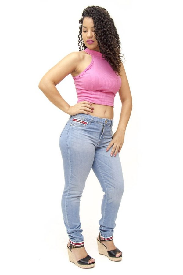 Calça Jeans Feminina Clara Sawary Desiree