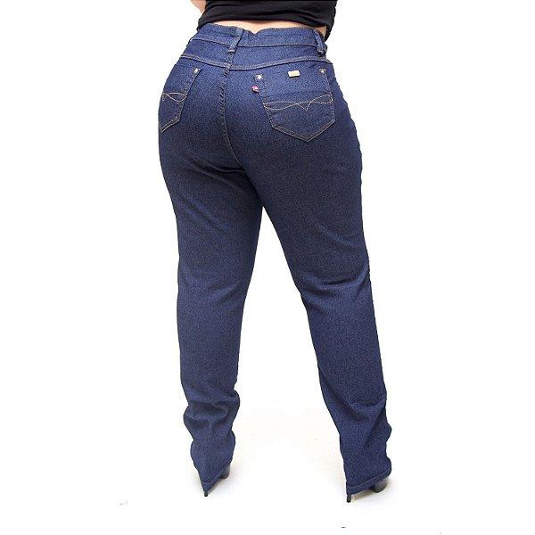Calça Jeans Cambos Plus Size Skinny Laisla Azul