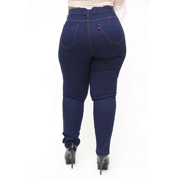 Calça Jeans Feminina Cambo Plus Size Monika Azul