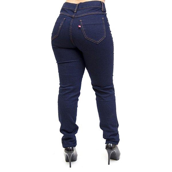 Calça Jeans Feminina Cambos Skinny Vallete Azul