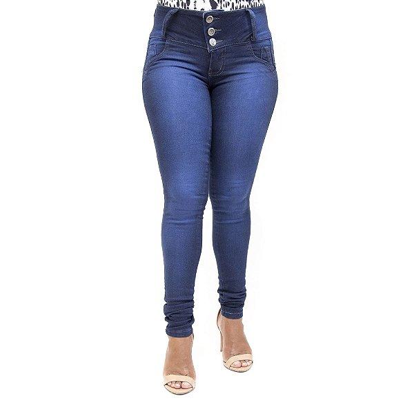 Calça Jeans Feminina Credencial Azul Marinho