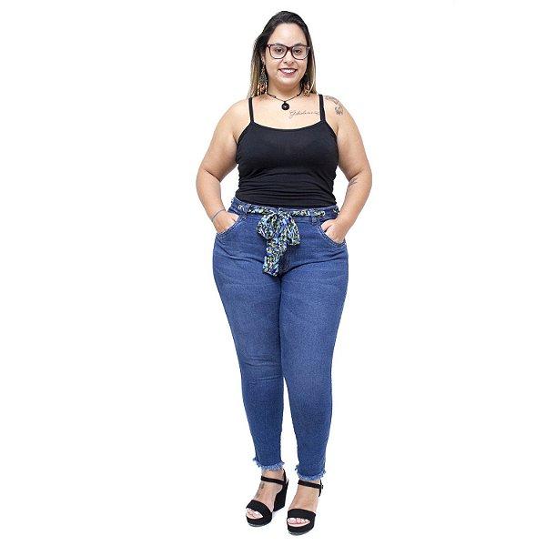 Calça Jeans Cambos Plus Size Skinny Isailma Azul