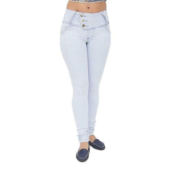 Calça Jeans Feminina Cheris Clara Levanta Bumbum
